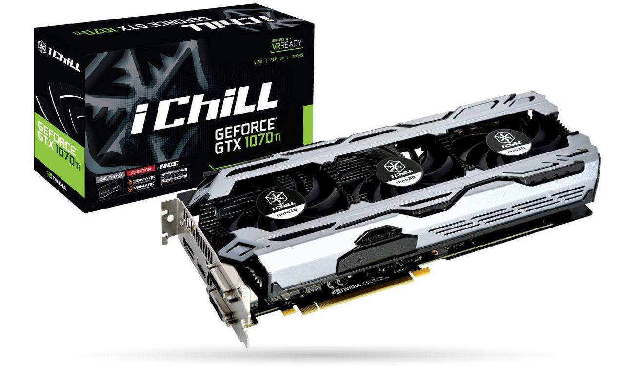 nno3D GeForce GTX 1070 Ti iChill X3 V2 8GB GDDR5
