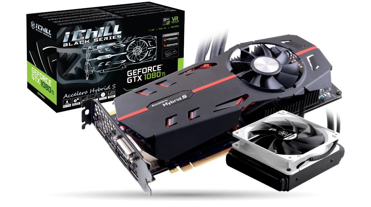 Inno3d Geforce Gtx 1080 Ti Ichill Black 11gb Gddr5x Karty