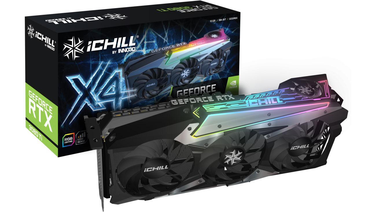 Inno3D GeForce RTX 3080 Ti ICHILL X4 12GB GDDR6X C308T4-126XX-1810VA36