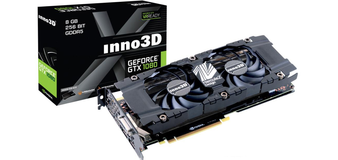 Inno3d GeForce GTX 1080 TWIN X2 8GB GDDR5X