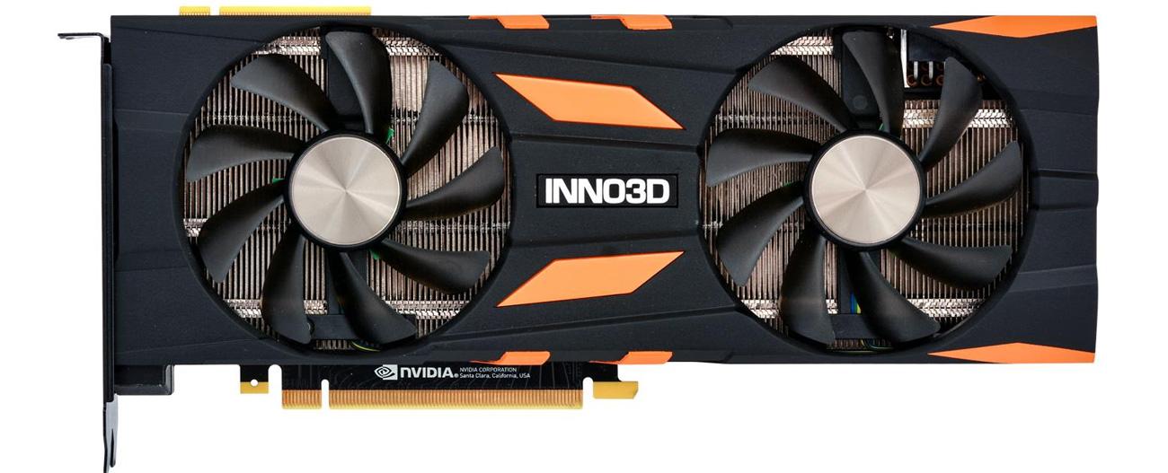 Inno3D GeForce RTX 2080 X2 OC 8GB GDDR6 wentylatory