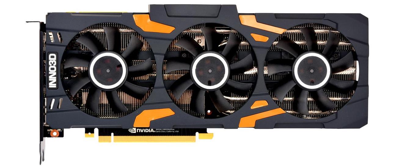 Inno3D GeForce RTX 2080 X3 GAMING OC 8GB wentylatory