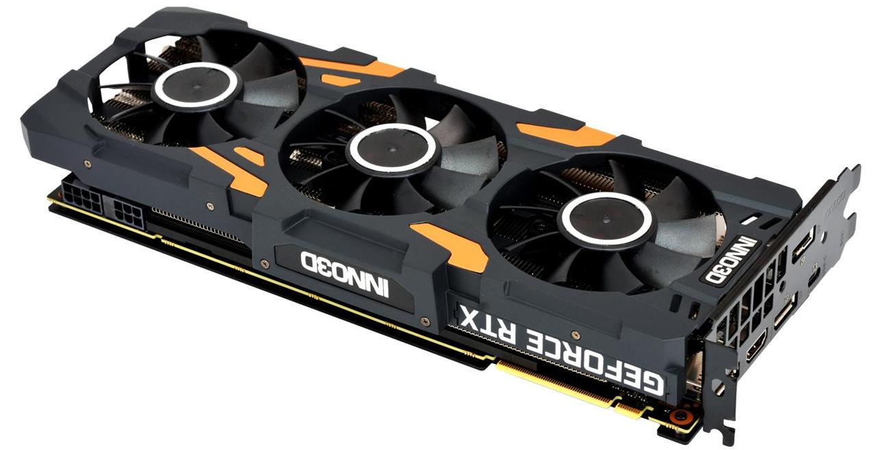 Inno3D GeForce RTX 2080 X3 GAMING OC 8GB złącza