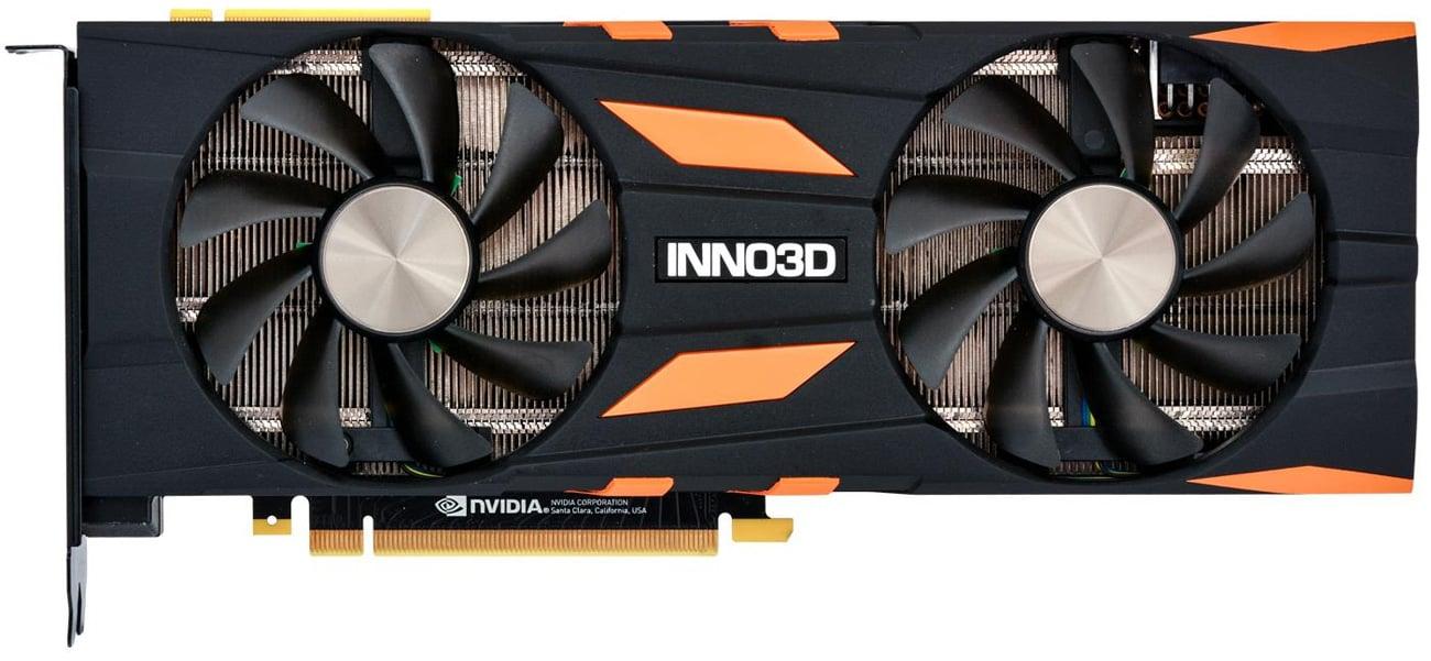 Inno3D GeForce RTX 2080 Ti X2 OC 11GB GDDR6 wentylatory