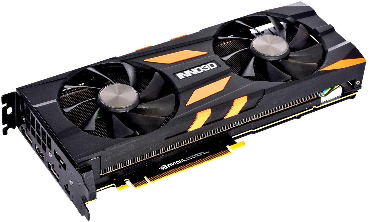 Inno3D GeForce RTX 2080 Ti X2 OC 11GB GDDR6 złącza