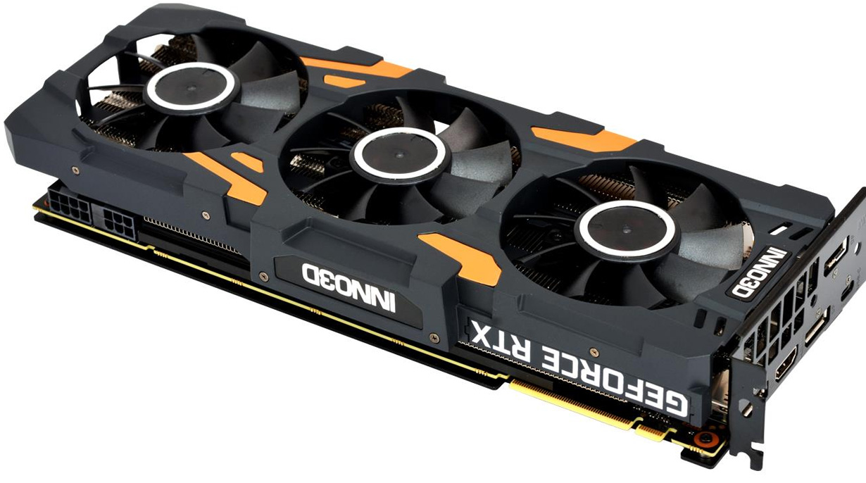 Inno3D GeForce RTX 2080 Ti X3 GAMING OC 11GB GDDR6 złącza