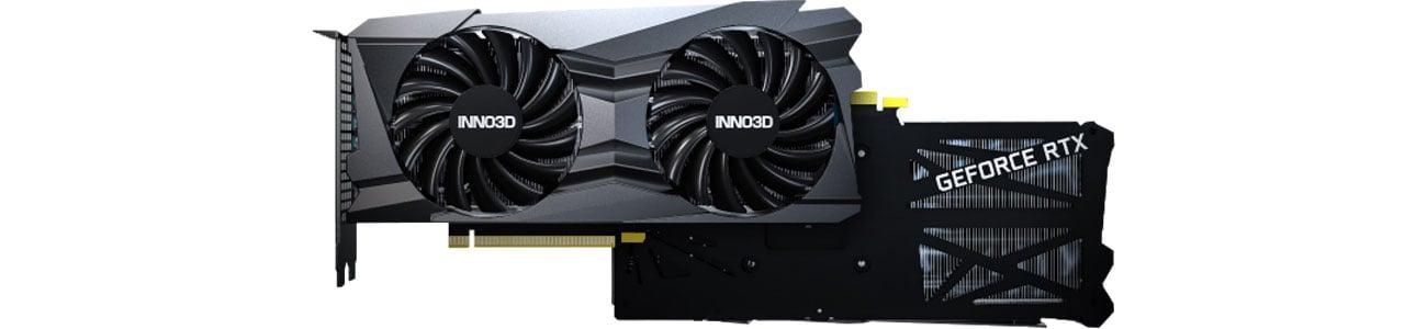 Inno3D GeForce RTX 3060 Ti Twin X2 OC - Chłodzenie