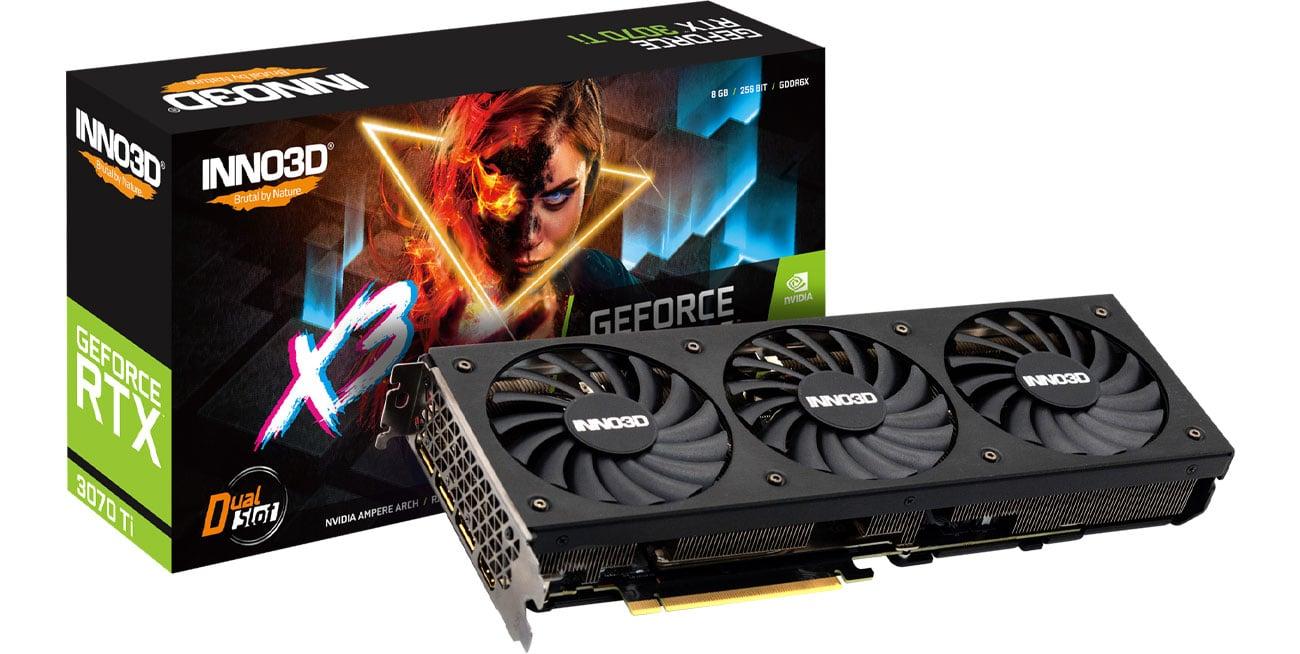 Inno3D GeForce RTX 3070 Ti X3 OC 8GB GDDR6X N307T3-086XX-1820VA45