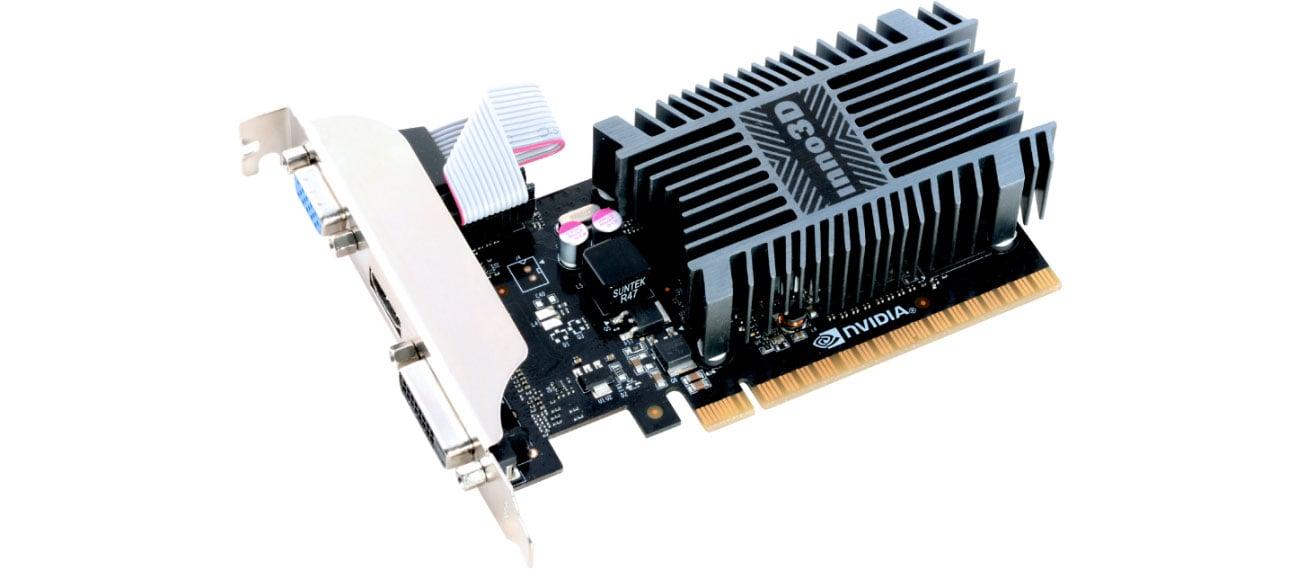 Karta graficzna NVIDIA Inno3D GeForce GT 710 2GB DDR3 N710-1SDV-E3BX