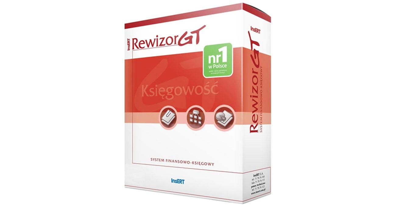 Insert RewizorGT profesjonalny system finansowo-księgowy