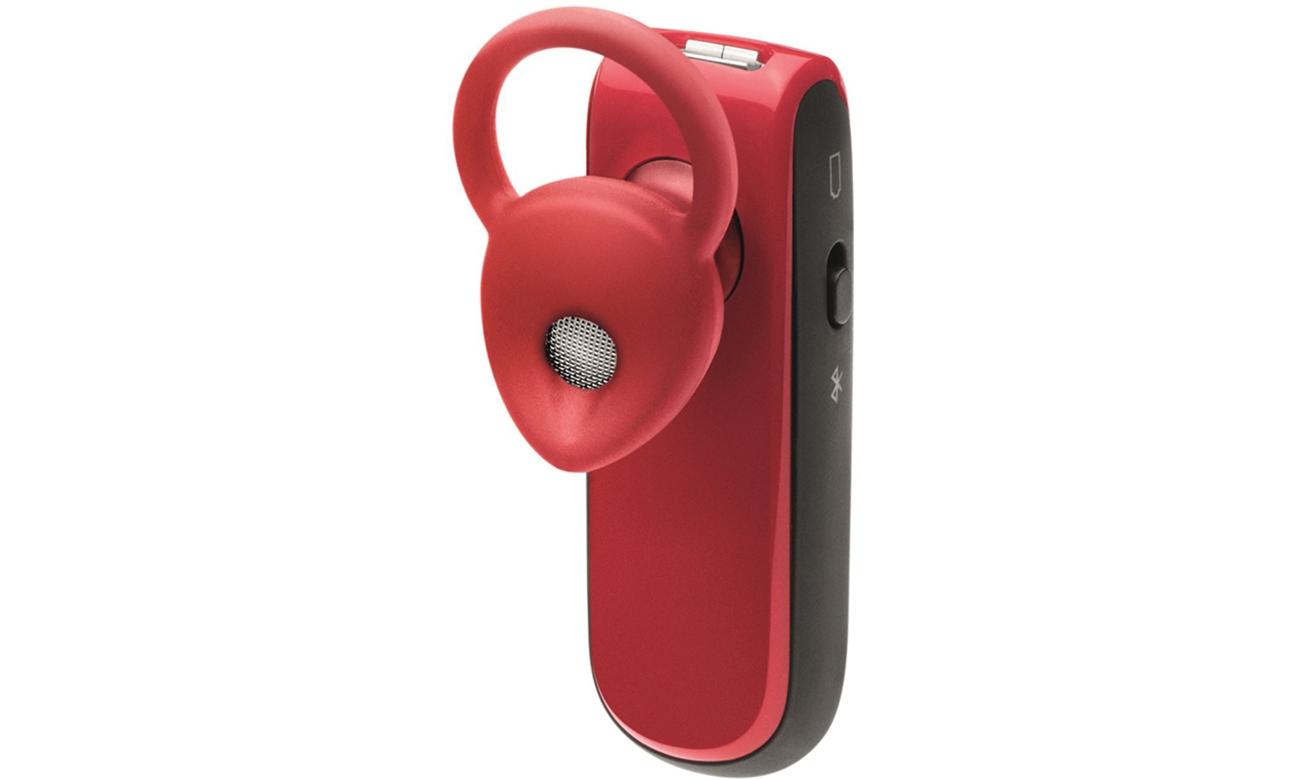 Jabra Classic Bluetooth czerwony wkładka EarGel