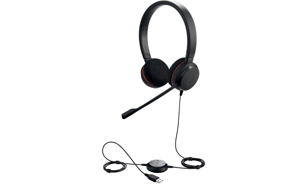 Zestaw słuchawkowy Jabra Evolve 20 Duo