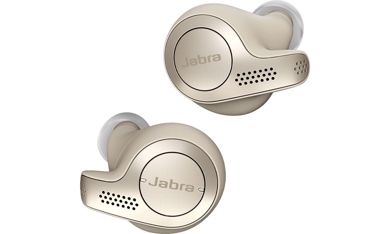 Słuchawki True Wireless Jabra Elite 65t złoto-beżowe