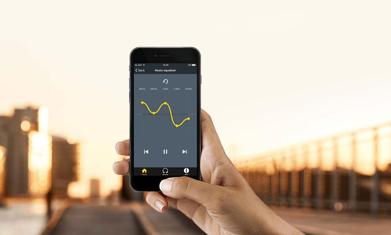Korekto dźwięku w aplikacji Jabra Sound+