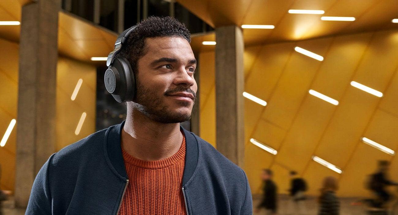 Technologia SmartSound w słuchawkach Jabra Elite 85h