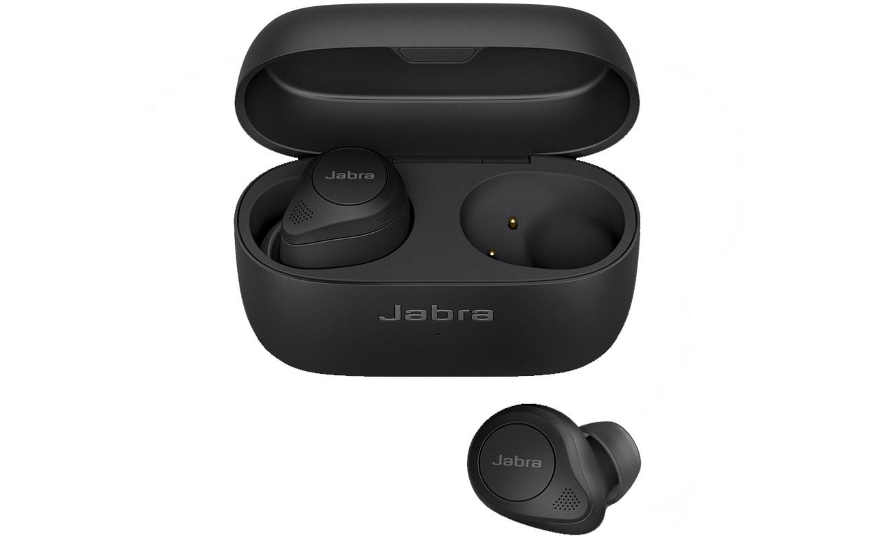 Słuchawki bezprzewodowe Jabra Elite 85t Czarne