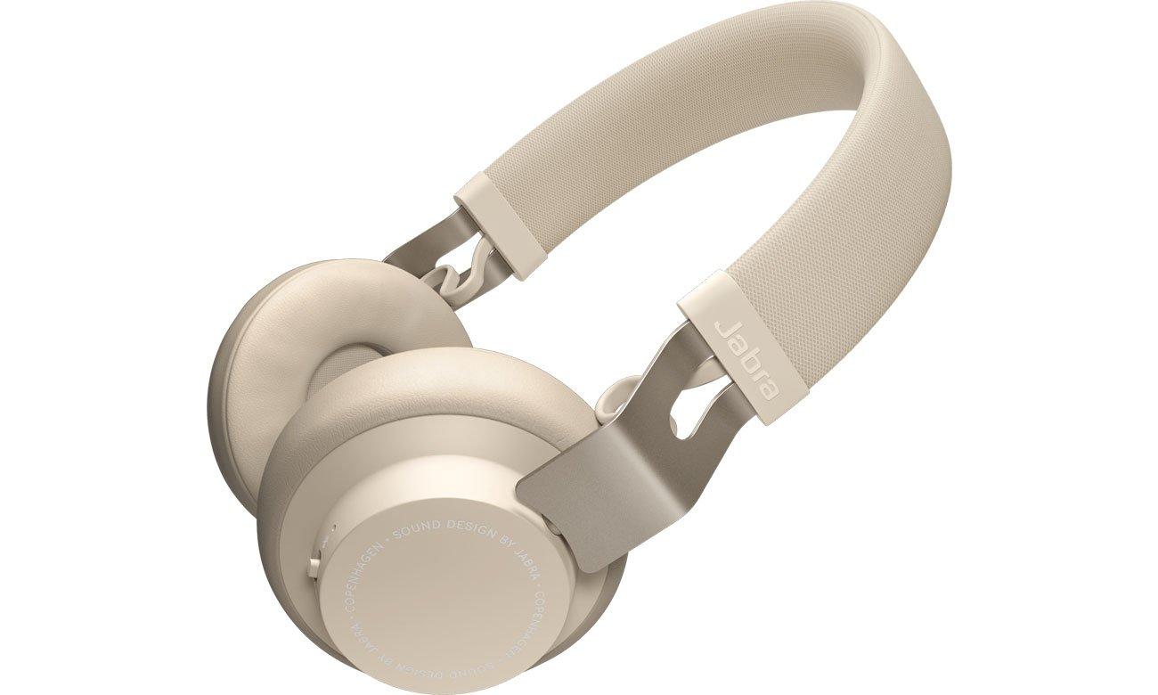 Słuchawki bezprzewodowe Jabra Move Wireless beżowe