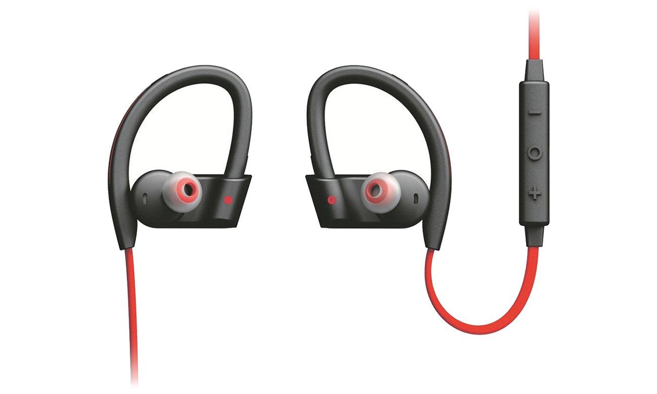 Słuchawki bezprzewodowe Jabra Sport Pace czarno-czerwone