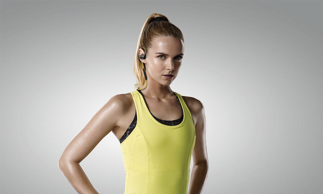 Jabra Sport Pace yellow