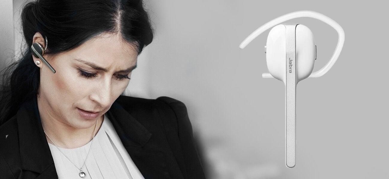 Zestaw słuchawkowy Jabra Style white