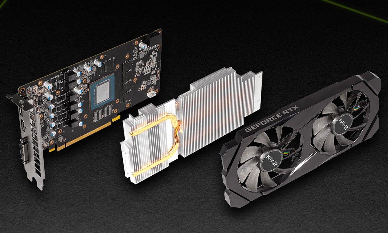 KFA2 GeForce RTX 2060 1-Click OC - Chłodzenie
