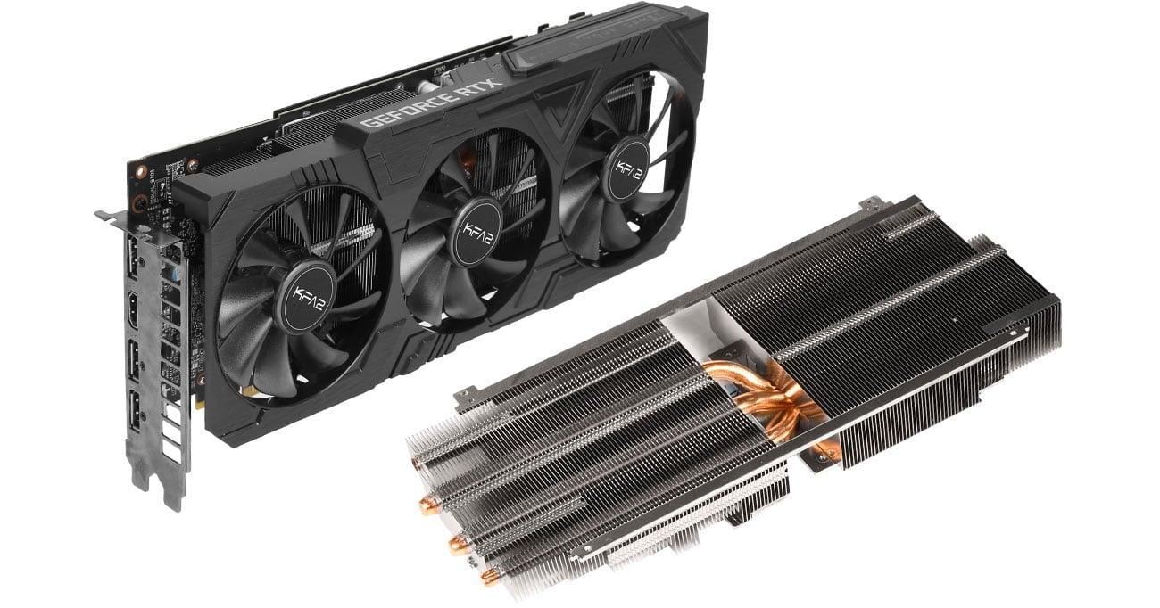 KFA2 GeForce RTX 2070 SUPER EX Gamer Black - Chłodzenie