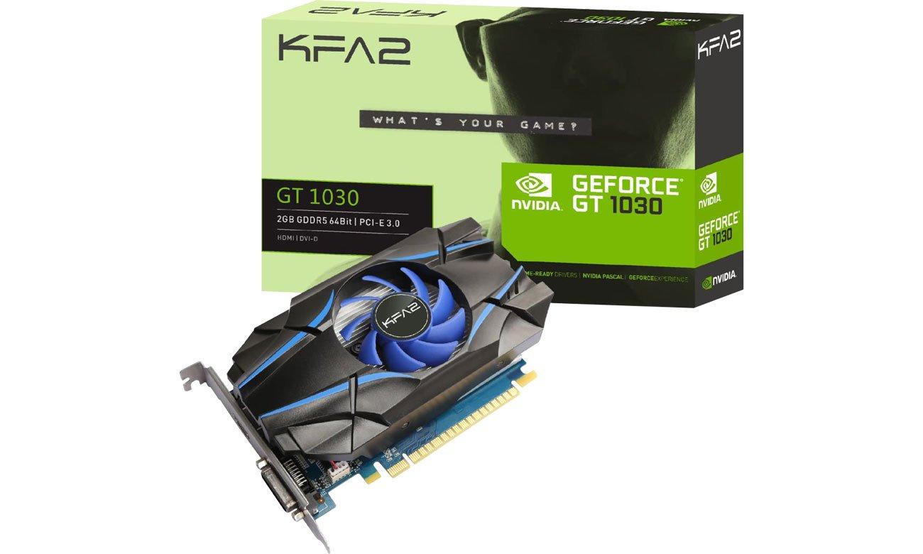 Karta graficzna NVIDIA KFA2 GeForce GT 1030 2 GB GDDR5
