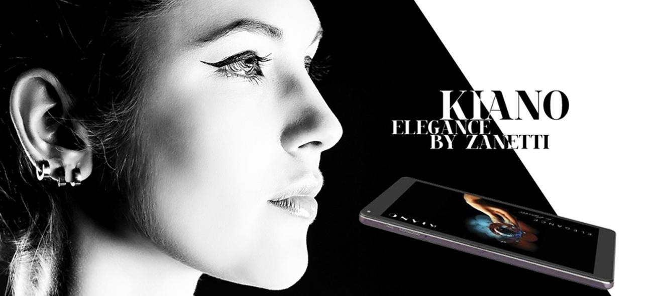 tablet Kiano Elegance 10.1 stylowa obudowa zaprojektowana przez Zanetti