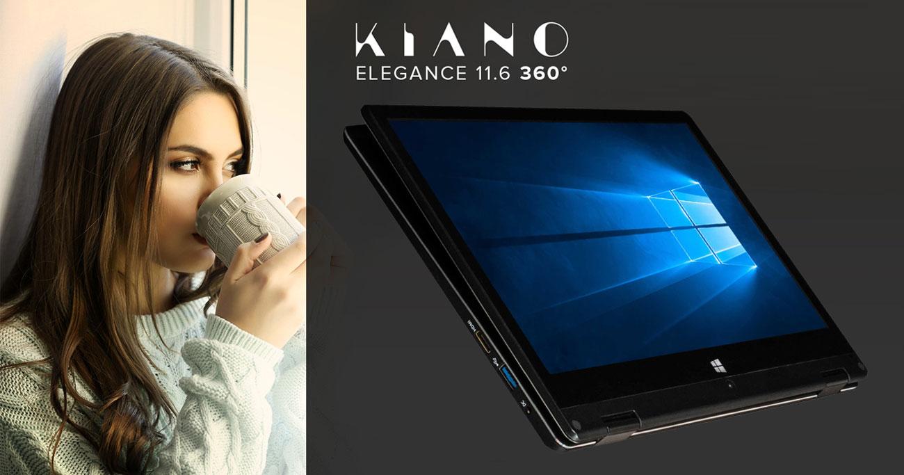 Kiano Elegance 11.6 360 bateria 8000 mah