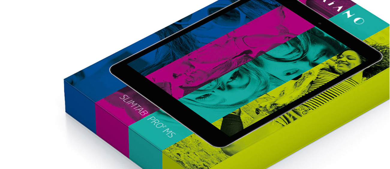 SlimTab PRO 2 Full HD czterordzeniowy procesor Intel ATOM