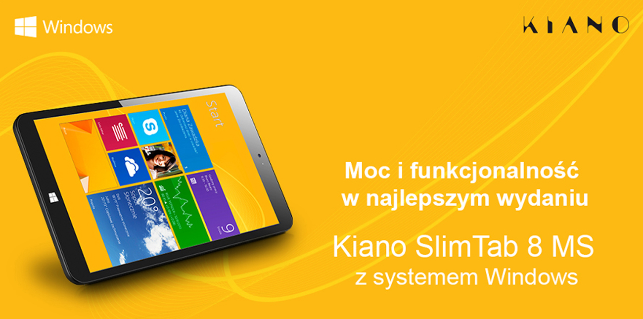SlimTab PRO 2 Full HD system operacyjny windows 10 pl