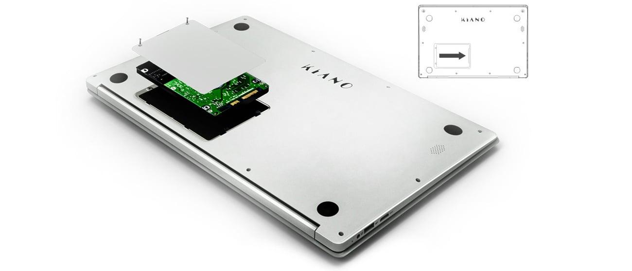 Kiano SlimNote 15.6 dodatkowy dysk 500 gb