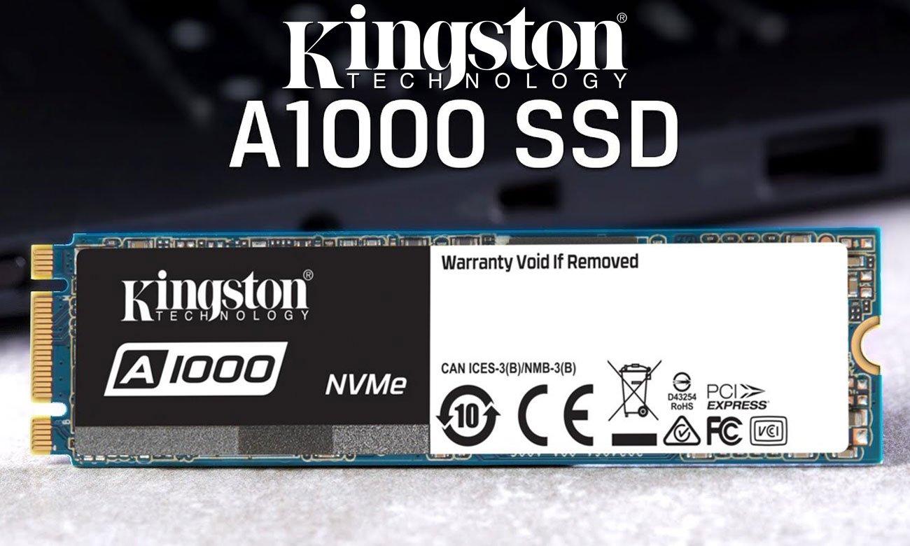 Półprzewodnikowy dysk SSD Kingston 960GB M.2 2280 A1000 PCIe SA1000M8/960G