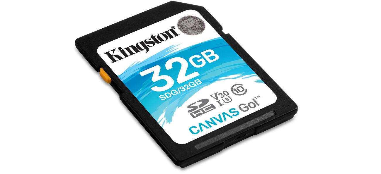 Karta SD Kingston Canvas Go!