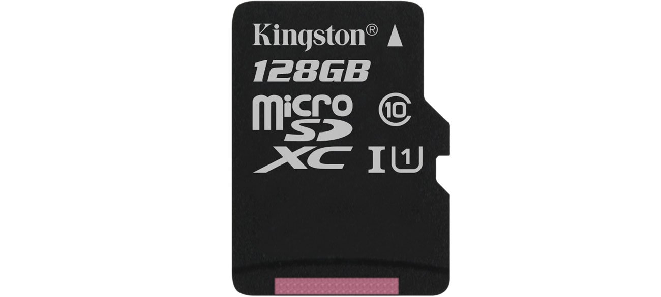 Kingston 128GB microSDXC Canvas Select 80MB/s C10 UHS-I