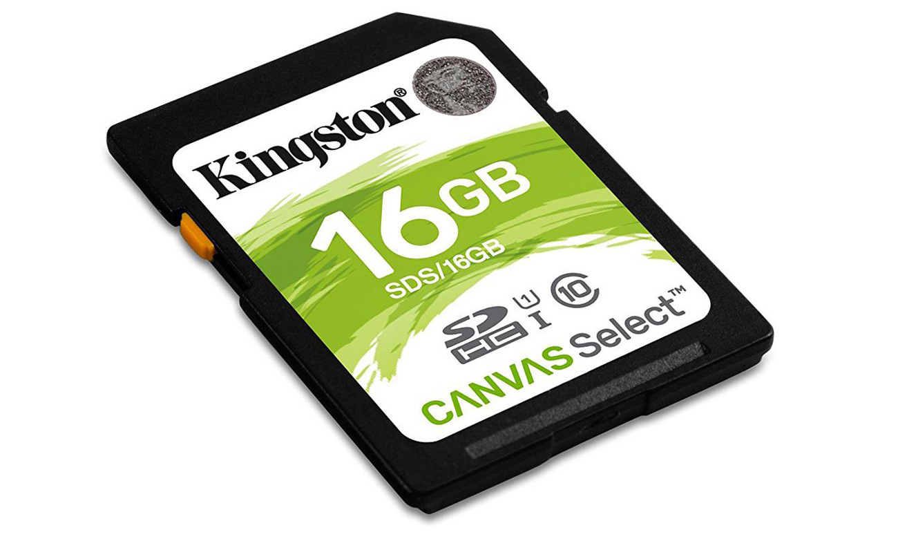 Karta SD Kingston Canvas Select