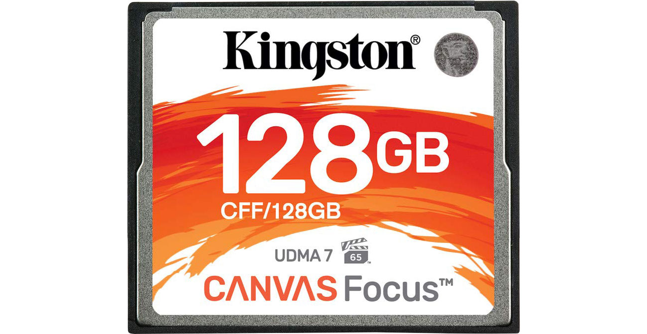Karta pamięci CF Kingston 128GB Canvas Focus CFF/128GB