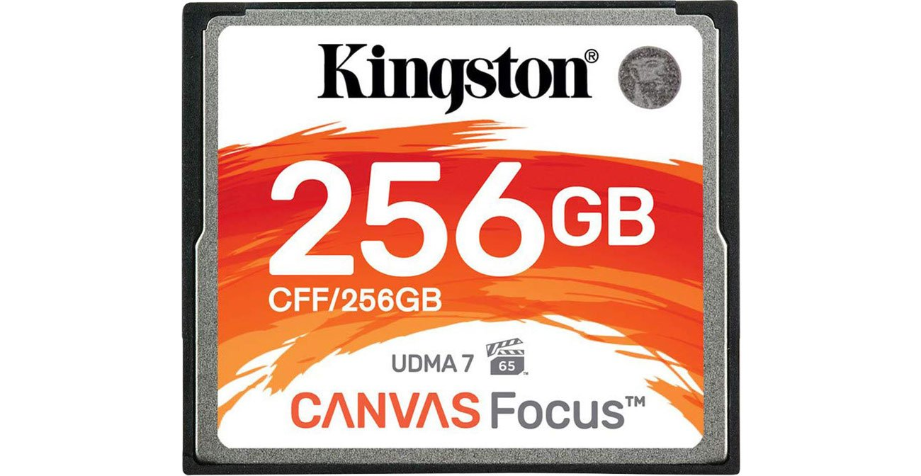 Karta pamięci CF Kingston 256GB Canvas Focus CFF/256GB