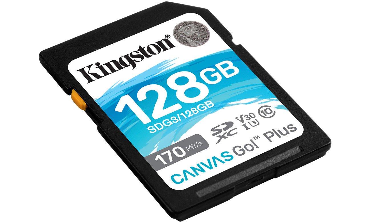 Karta SD Kingston Canvas Go! Plus 128GB