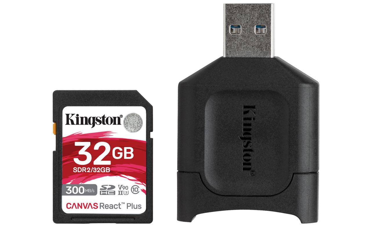 Karta SD Kingston Canvas React Plus 32GB