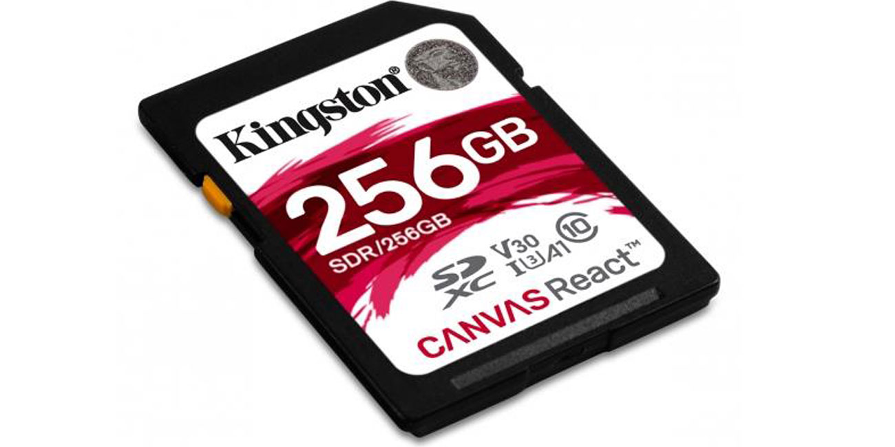 Zalety karty pamięci Kingston Canvas React