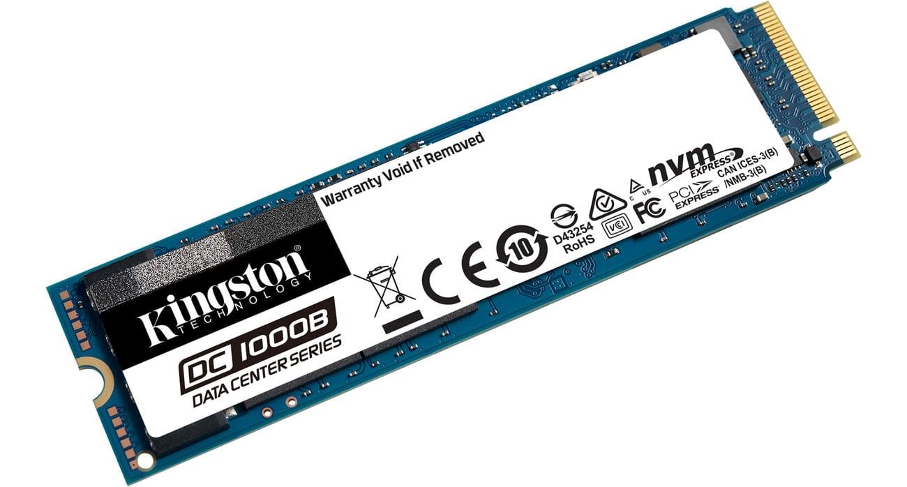 Dysk SSD Kingston 480GB M.2 PCIe NVMe DC1000B SEDC1000BM8/480G