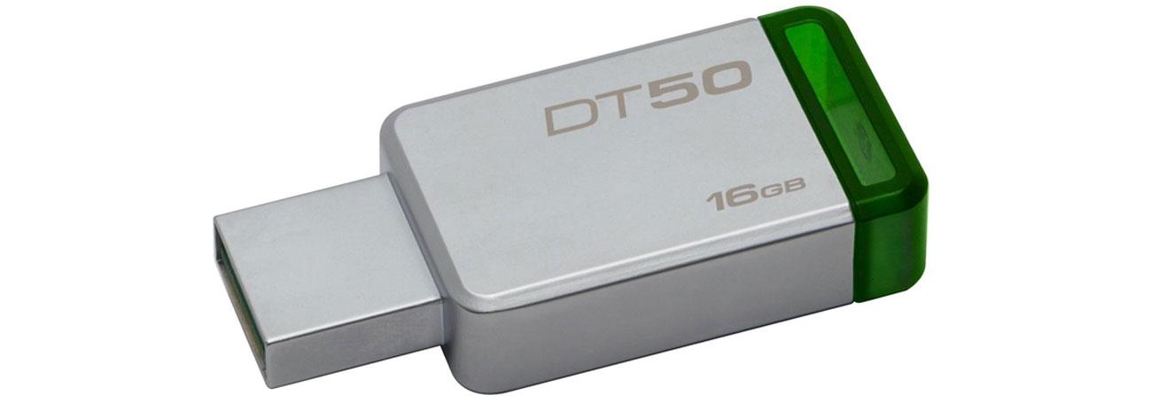 Kingston 16GB DataTraveler 50 30MBs szybki niezawodny komapktowy kompatybilny