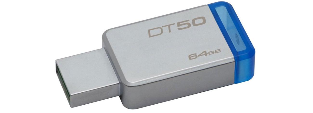 Kingston 64GB DataTraveler 50 30MBs szybki niezawodny komapktowy kompatybilny