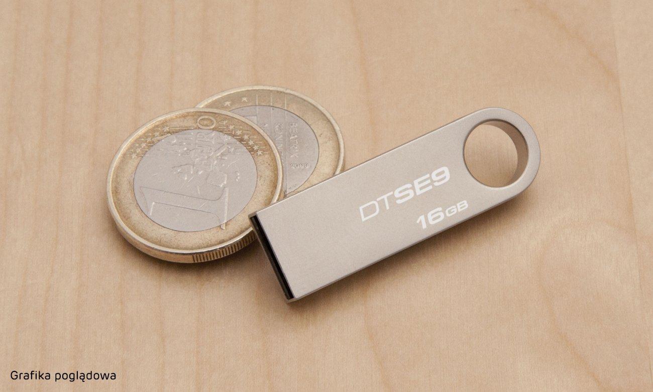 Kingston DataTraveler SE9 Interfejs Kompaktowy rozmiar