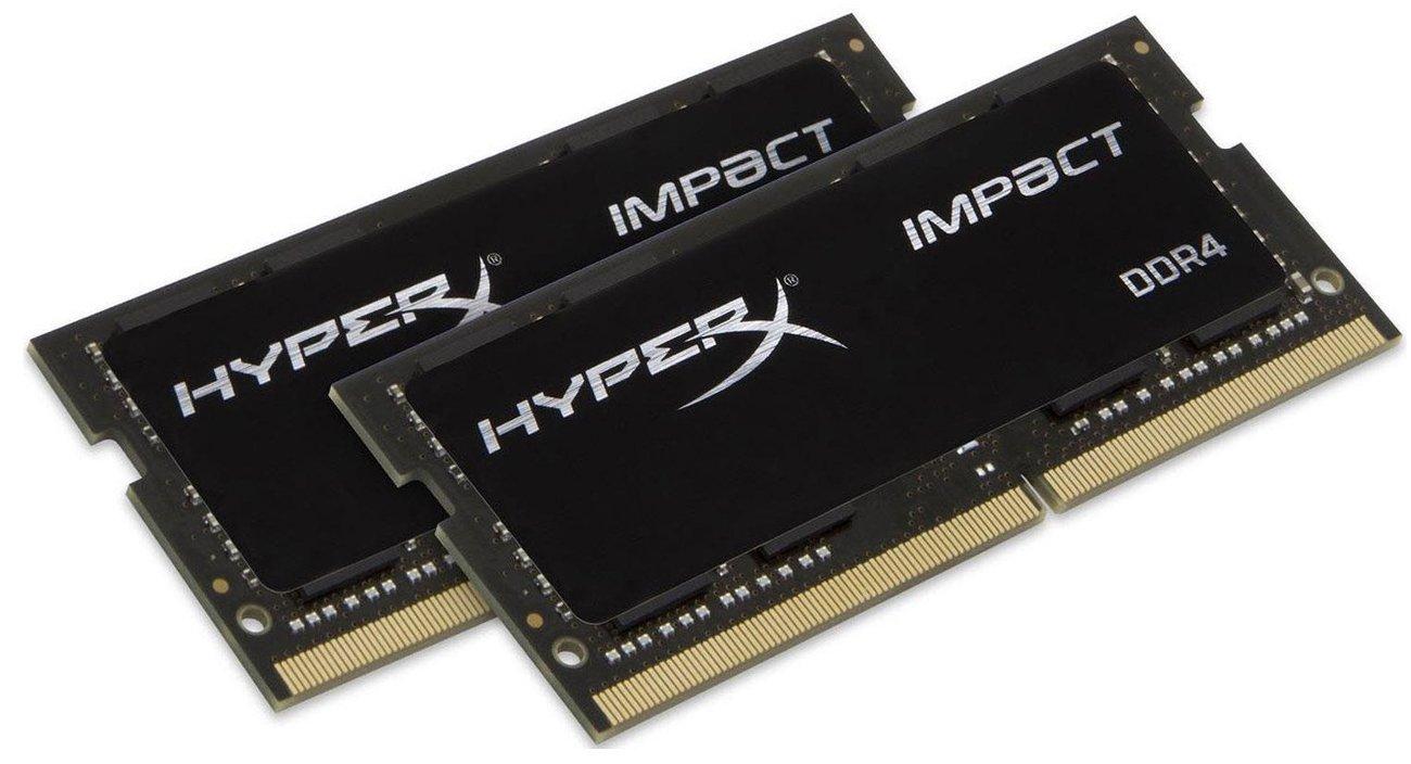 Pamięć RAM SODIMM DDR4 HyperX 32GB (2x16GB) 3200 MHz CL20 Impact HX432S20IBK2/32