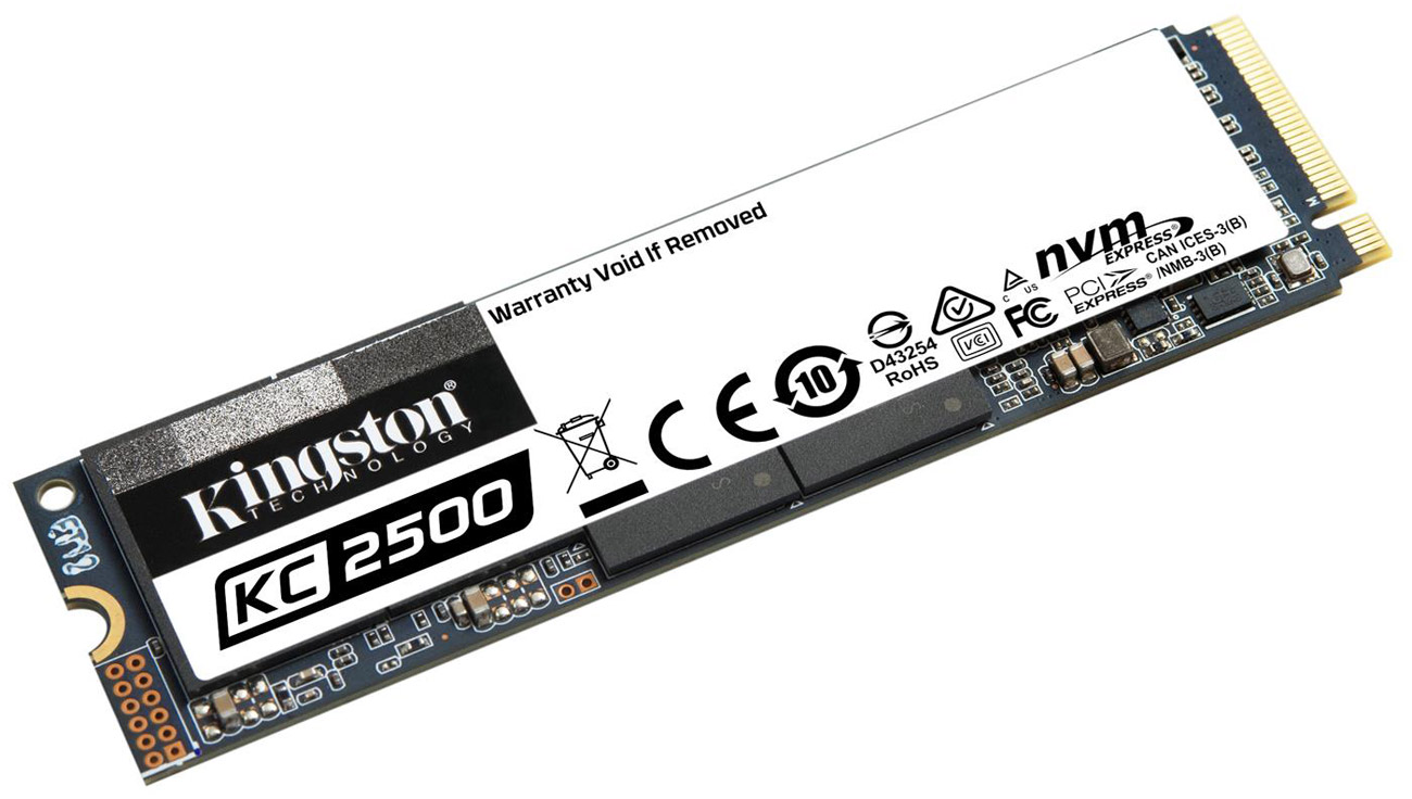 Dysk SSD Kingston KC2500 M.2 NVMe 1 TB