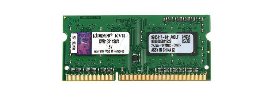 Pamięć SODIMM DDR3 Kingston 4GB 1600MHz