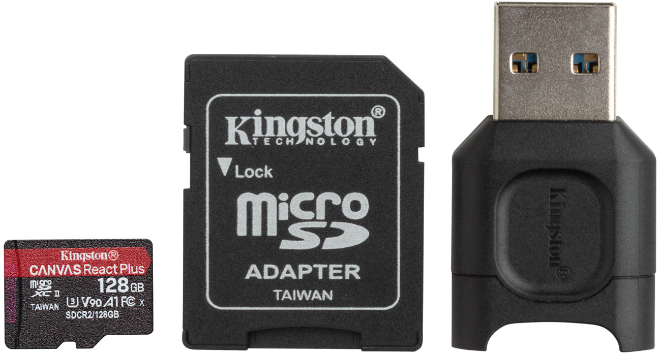 Karta pamięci microSD Kingston Canvas React Plus 128GB