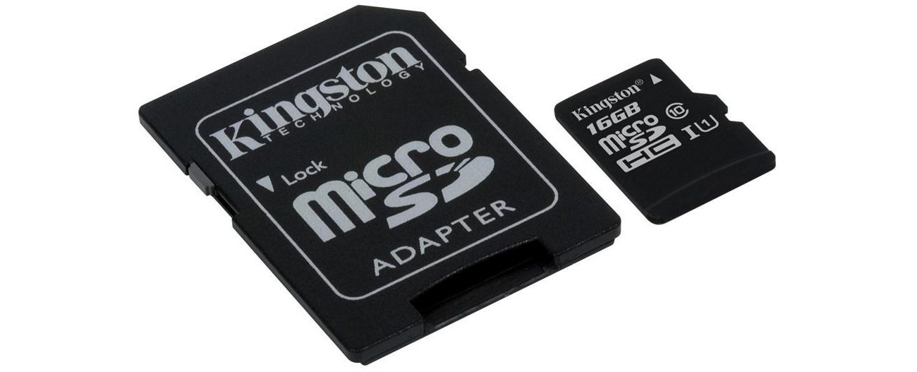 Karta pamięci Kingston 16GB microSDHC